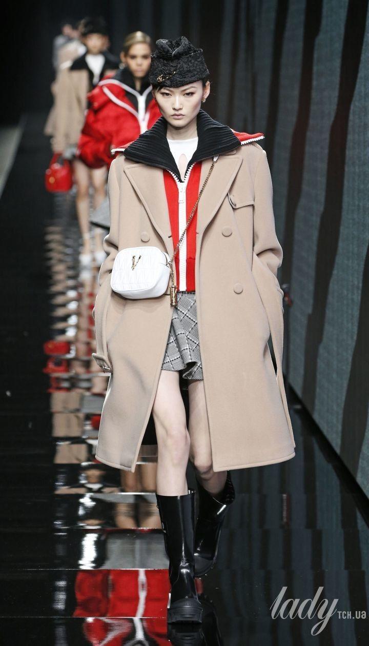 Колекція Versace прет-а-порте сезону осінь-зима 2020-2021