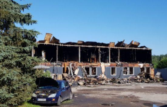 У Польщі спалили хостел з українськими заробітчанами