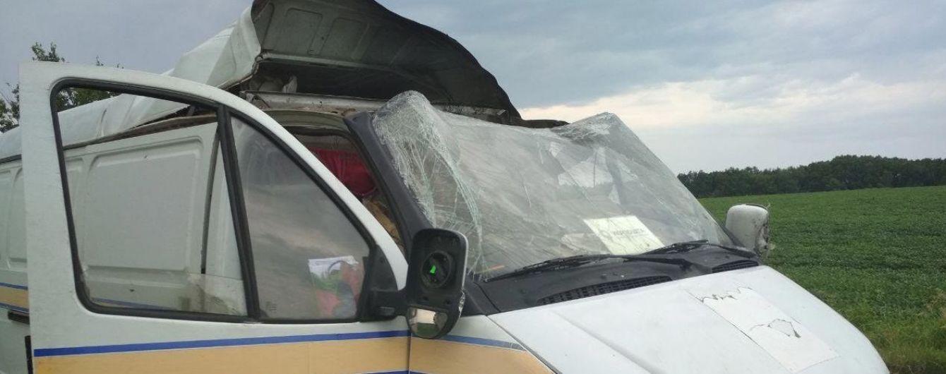 """У Полтавській області підірвалиі пограбували авто """"Укрпошти"""": небезпечні злочинці втекли"""