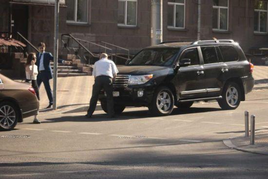 Голова ДПС Любченко потрапив в аварію і втік із місця - нардеп