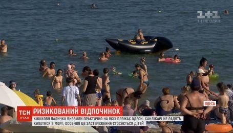 Через спеку вода на одеських пляжах не відповідає санітарним нормам
