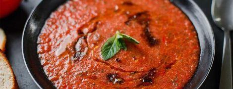 Гаспачо: рецепт от Евгения Клопотенка