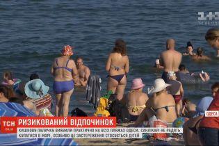 Грязная вода: на одесских пляжах обнаружили кишечную палочку и других возбудителей инфекций