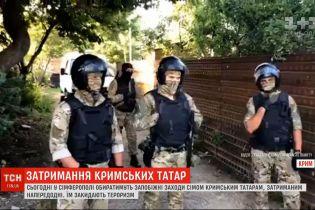 """""""Суд"""" в Симферополе будет выбирать меры пресечения крымским татарам, которых российские власти обвиняют в терроризме"""