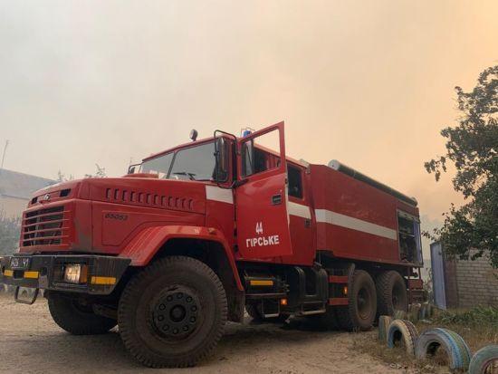 Перед засіданням ТГК Єрмак попросив сторони припинити вогонь через пожежі в Луганській області