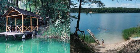 Уикенд на Голубых озерах: купание в лазуной воде и отдых среди сосен