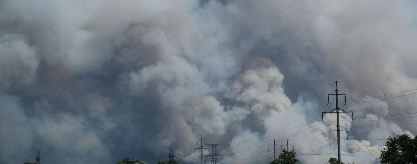 У Луганській області за понад тиждень пожежу вдалося повністю ліквідувати