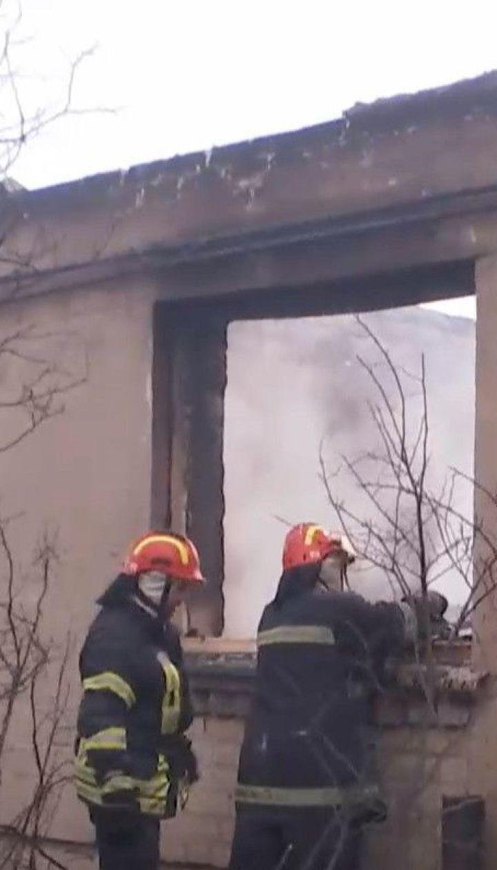 Нацполиция открыла уголовное производство из-за масштабного пожара в Луганской области