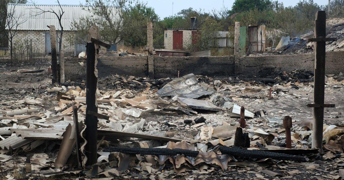 Пожары в Луганской области: известны вероятные причины возгорания