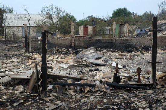 Пожежі в Луганській області: відомі ймовірні причини загоряння