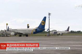 Восстановление авиасообщения: куда и при каких условиях могут путешествовать украинцы
