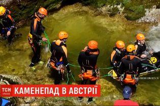 Жертви каменепаду: у горах Австрії загинули двоє людей, ще семеро дістали травм