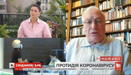 Академік Сергій Комісаренко розповів про другу хвилю коронавірусу та його дослідження в Україні