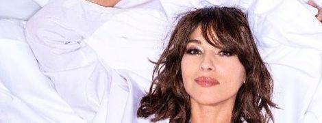 Ах, какая красавица: Моника Беллуччи в сексуальном боди показала пышную грудь