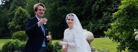 Восточная невеста: принцесса Райя в белом платье с вышивкой и длинной фате вышла замуж