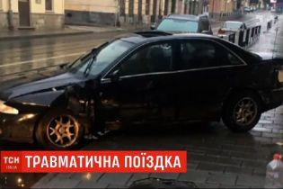 У Львові сталась аварія за участі іноземців
