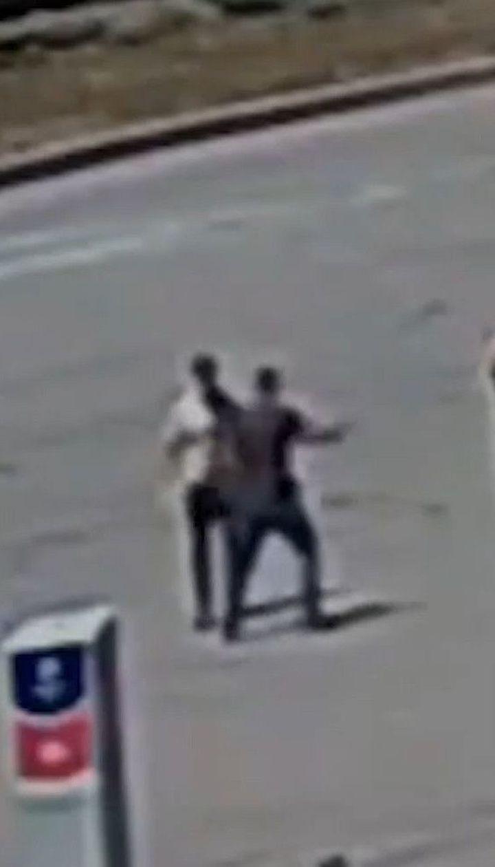 В Днепре водитель напал на инспекторшу полиции