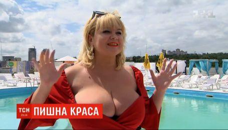 """Українська модель замахнулась на рекорд у номінації """"Найбільші природні груди"""""""