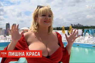 """Украинская модель замахнулась на рекорд в номинации """"Самая большая естественная грудь"""""""