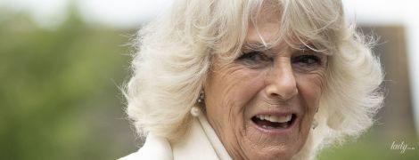 Какая красавица: герцогиня Корнуольская в белоснежном наряде приехала на мероприятие