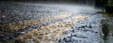 У ДСНС попереджають про значні дощі та сильний вітер у чотирьох областях України