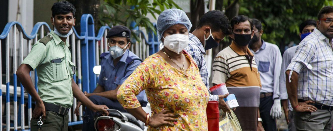 В Індії кількість хворих на коронавірус перевалила за 4 мільйони: країна на 3-му місці коронавірусного антирейтингу
