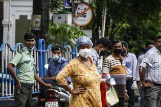 В Індії фіксують стрімку захворюваність на коронавірус: за добу понад 26 тисячі випадків