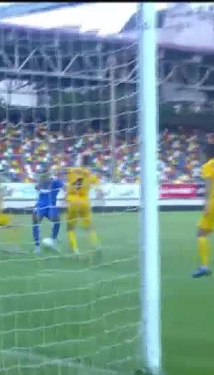 Днепр-1 – Львов - 0:2. Видео второго гола Ренана