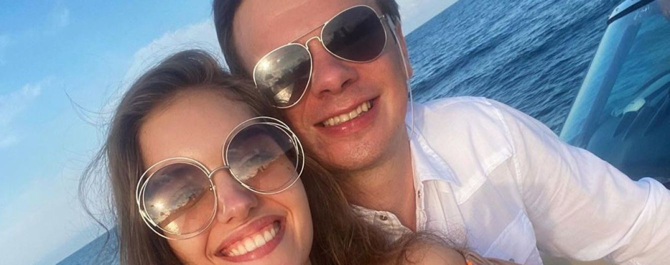 Дружина Дмитра Комарова розсекретила, як екзотично пара відсвяткувала ситцеве весілля