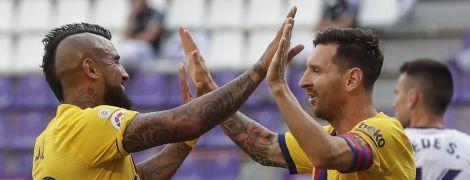 """""""Барселона"""" обіграла """"Вальядолід"""", Мессі встановив унікальне досягнення"""