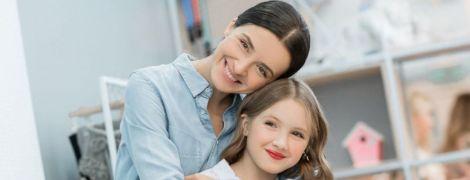 10-річна донька Валентини Хамайко зголила волосся