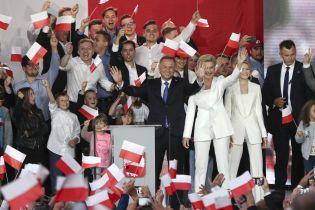 Дуда переміг на президентських виборах у Польщі
