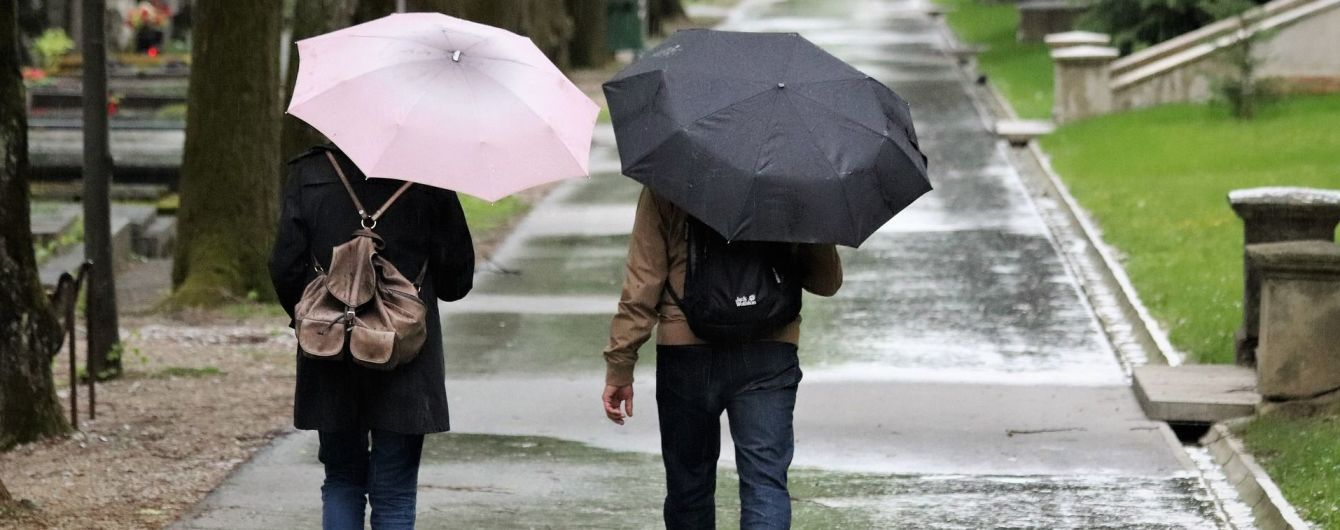 Прогноз погоди на 16 жовтня: до України прийшло похолодання та дощі