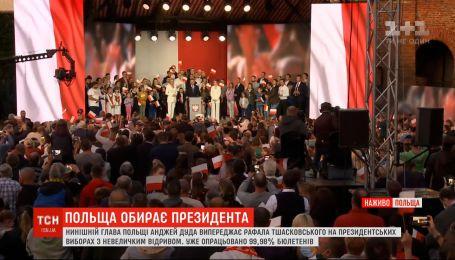 Новий президент Польщі: перемогу з незначним відривом здобуває нинішній глава держави Анджей Дуда