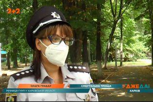 В Харькове байкер ехал на сверхвысокой скорости и не справился с управлением