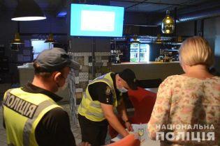 Київські поліціянти виявили порушення карантину в майже 30 нічних клубах