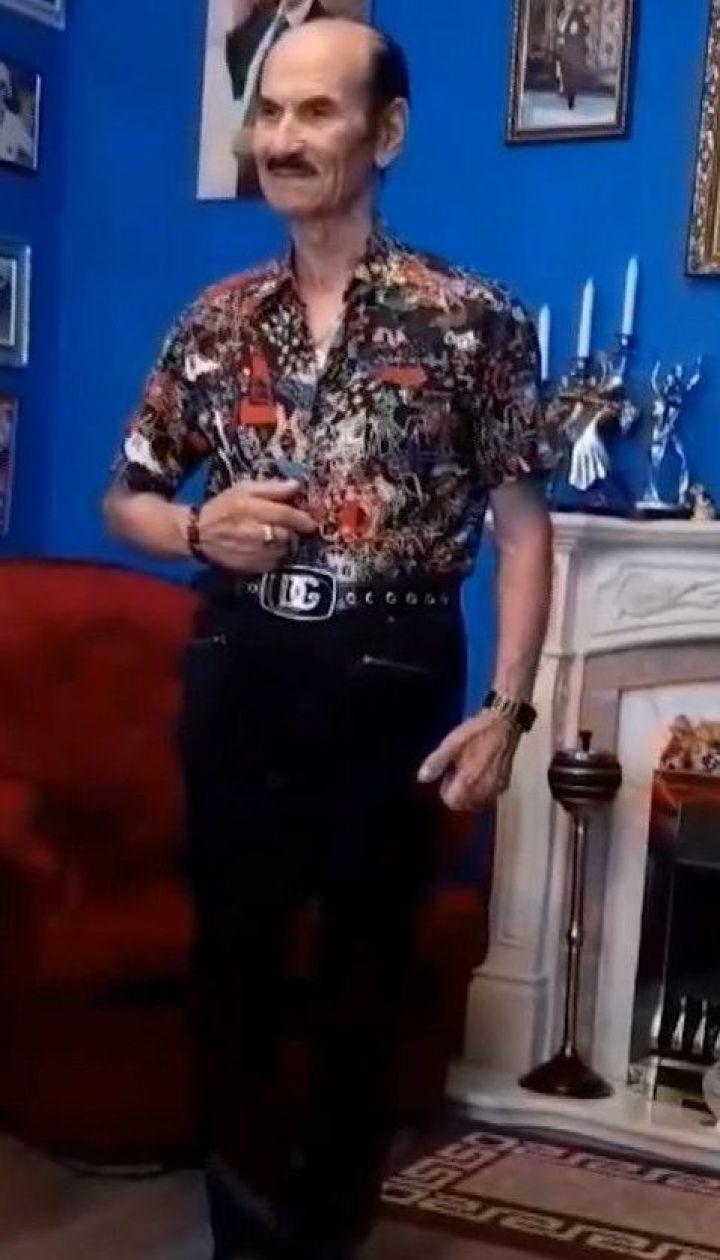 """Григорій Чапкіс став третім суддею шоу """"Танці з зірками"""" та записав відеозвернення глядачам"""