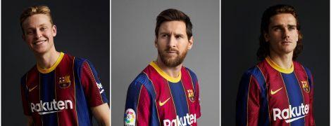 """""""Барселона"""" показала форму, в которой сразится за титул в новом сезоне"""