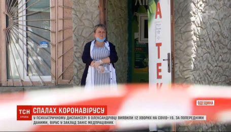 У психіатричному диспансері в Олександрівці виявили 12 хворих на коронавірус