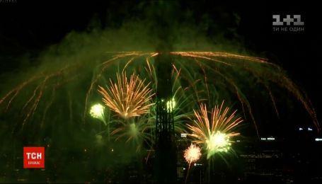 Франція завершила святкування Дня взяття Бастилії 30-хвилинними феєрверками
