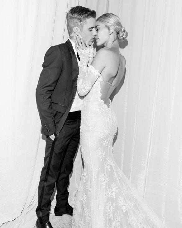 Свадебные платья моделей_8