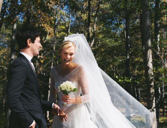 Свадебные платья моделей_9