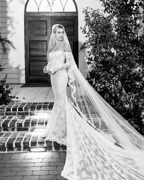 Свадебные платья моделей_7