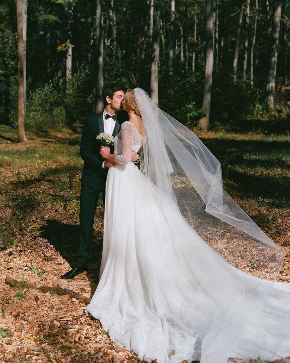 Свадебные платья моделей_10