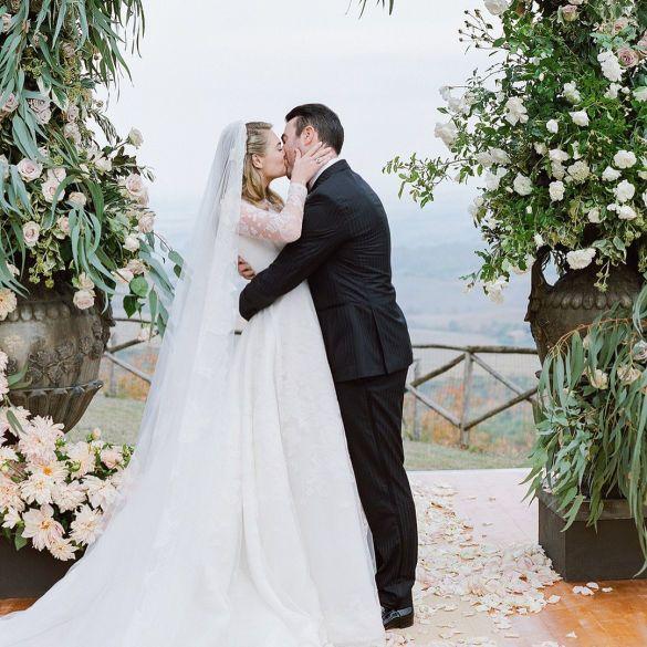 Свадебные платья моделей_11