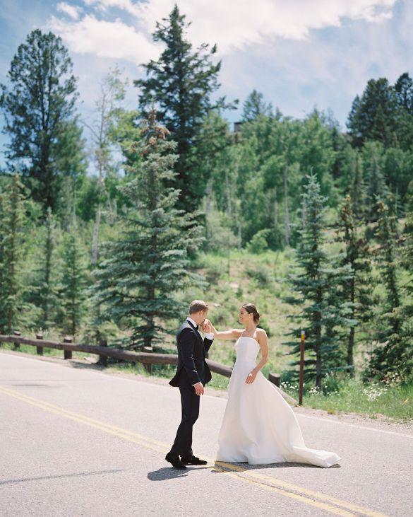 Свадебные платья моделей_5
