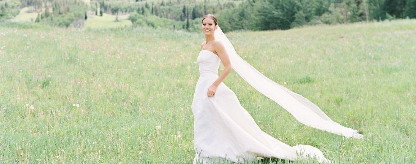 В чем выходили замуж знаменитые модели: топ-10 шикарных нарядов