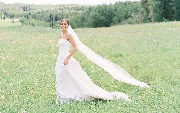 Свадебные платья моделей_6