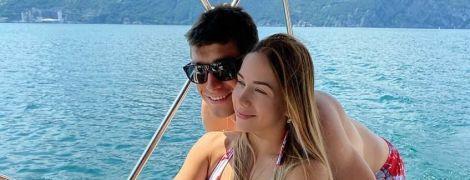 Малиновский с женой и дочкой покатался на яхте после феерического выступления в Чемпионате Италии