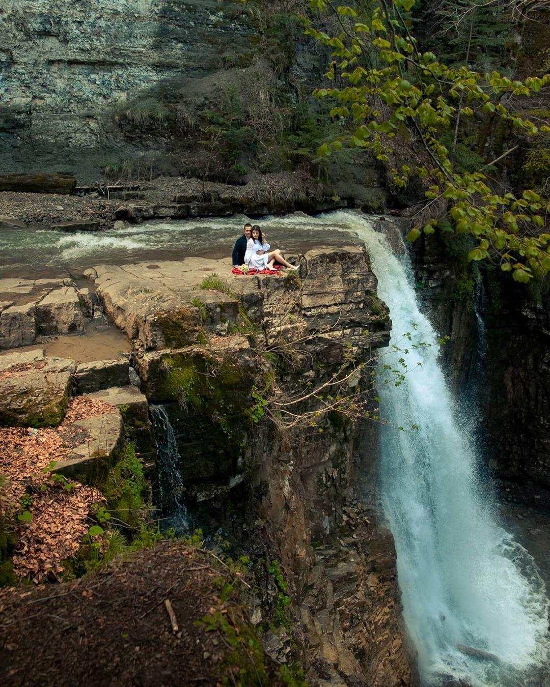 манявський водоспад 3